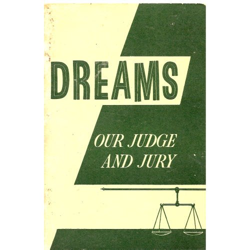 Image for Dreams Our Judge and Jury