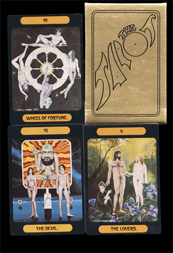 Image for Yeager Tarot Deck, The Tarot of Meditation. First Edition 1975
