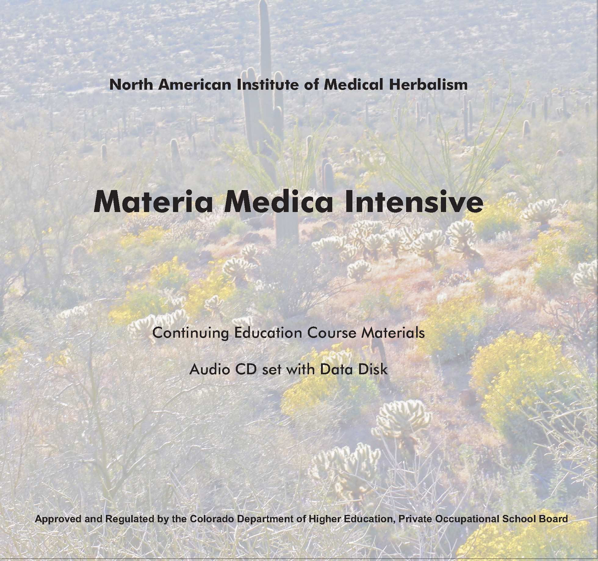 NAIMH Materia Medica Intensive : Continuing Education Course Materials Audia CDs  North American Institute of Medical Herbalism