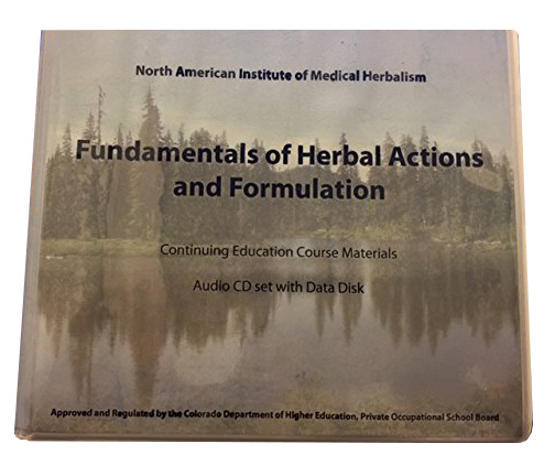 Image for Fundamentals of Herbal Actions and Formulations