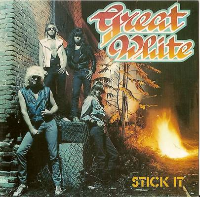 Image for Great White. Stick It - Limited Numbered Edition 027. Import From France.