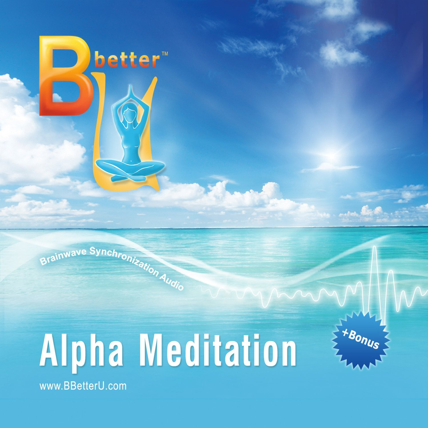 Image for Alpha Brainwave Meditation - Isochronic Tones Music CD