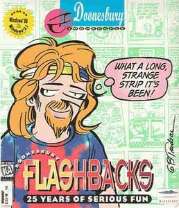 Doonesbury Flashbacks 25 Years of Serious Fun [CD-ROM]