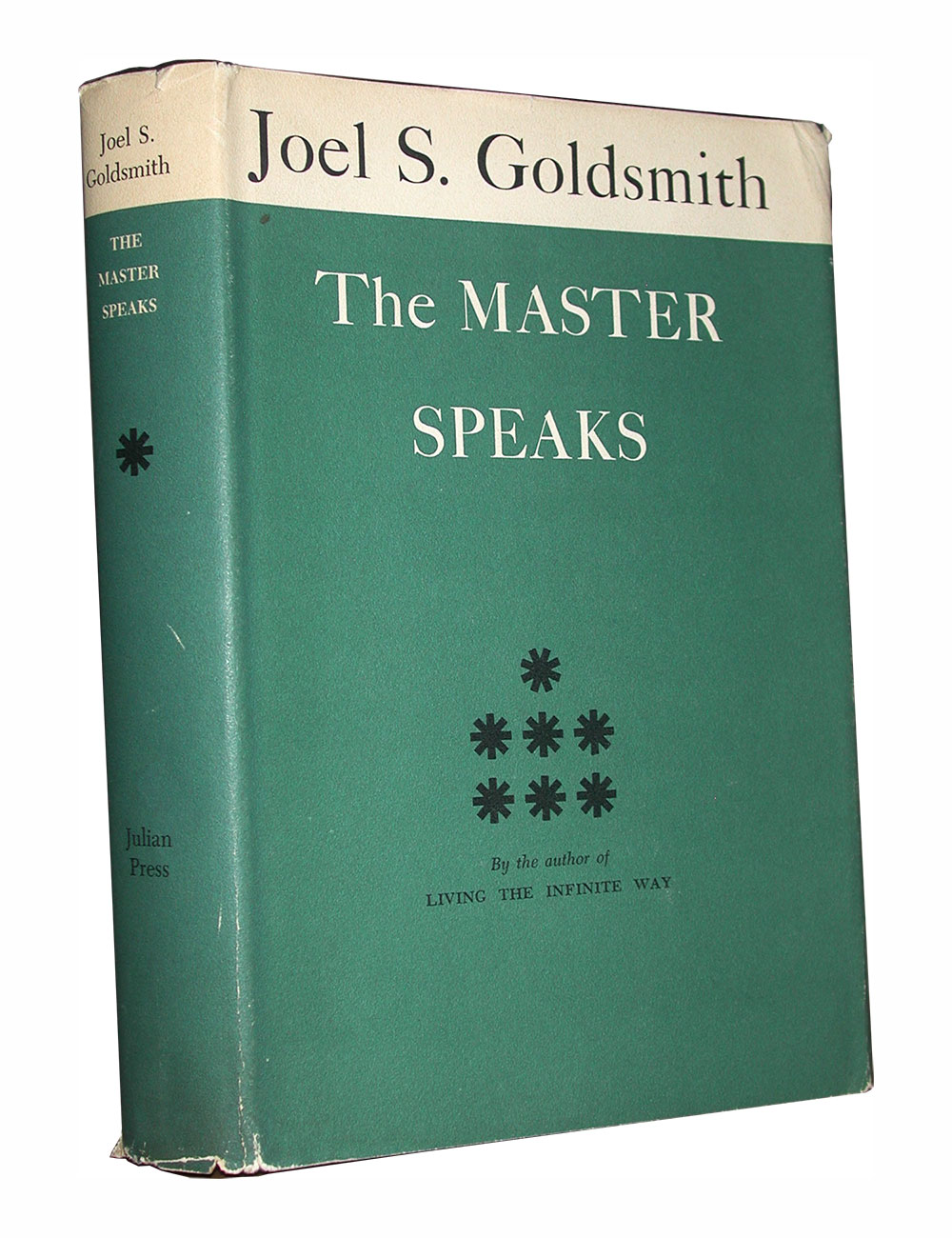 Image for The Master Speaks First Edition