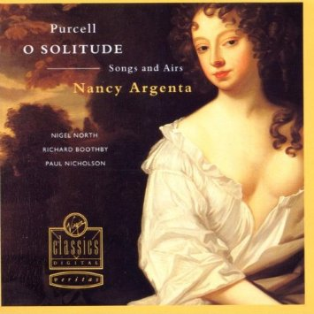 Image for Purcell:O Solitude: Songs & Airs Audio Music CD