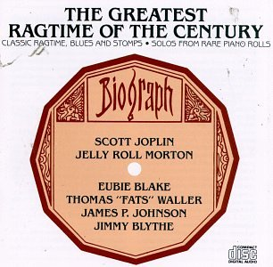 Image for Greatest Ragtime Of The Century - Classic Ragtime, Blues and Stomps from Rare Piano Rolls Audio Music CD