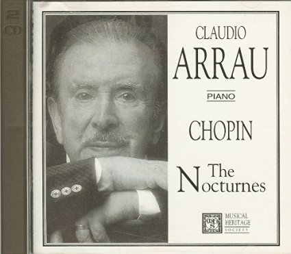 Image for Claudio Arrau Piano: Chopin The Nocturnes Audio Music CD