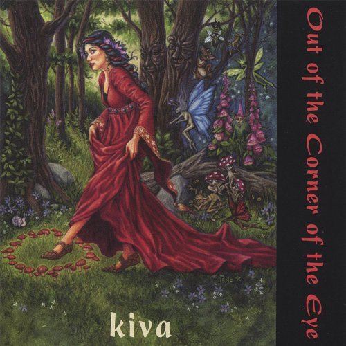Image for Kiva, Out of the Corner of the Eye Audio Music CD
