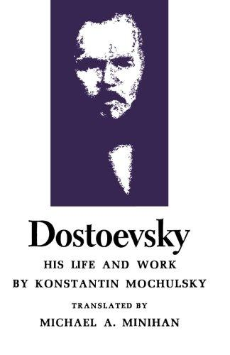 Image for Dostoevsky: His Life and Work