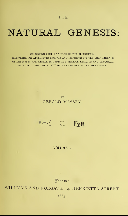 Gerald Massey: 16 E-Books eBooks On CD Media! Book Of The Beginnings, Light  of the World Vol 1 and 2, Egyptian Book Of The Dead, Gnostic, Lectures,