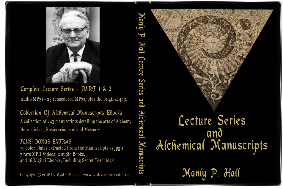Manly P Hall: Complete Tapes, Albums, Audio Lecture Series, and Alchemical Manuscripts