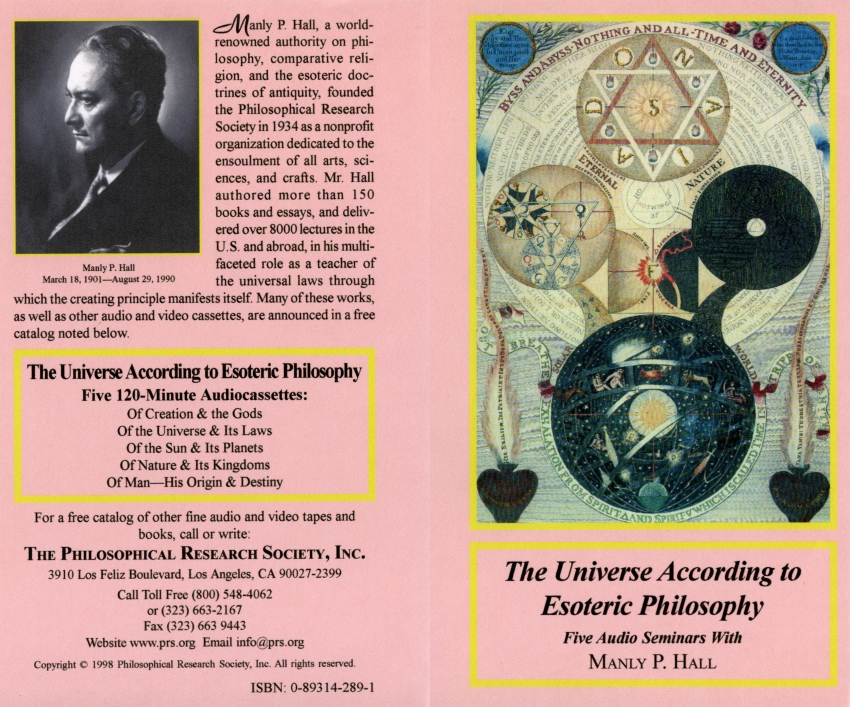 Image for Manly P Hall: Complete Tapes, Albums, Audio Lecture Series, and Alchemical Manuscripts, Audiobooks Mp3s, and Ebooks, On 3 DVDs! Plus Bonus Books and Videos!
