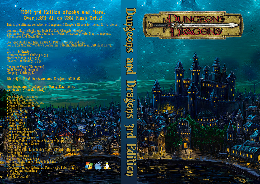 Dungeons dragons on usb 900 ebook set collection 3e dd dungeons dragons on usb 900 ebook set collection 3e dd modules adventure maps tiles dungeons and more 3rd edition fandeluxe Choice Image