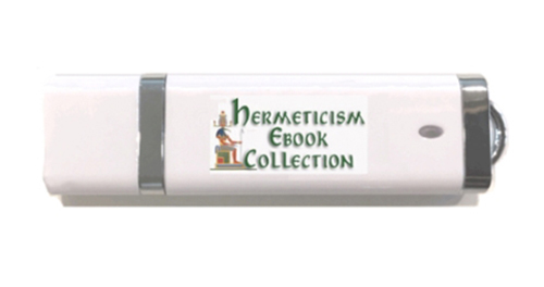Image for Hermeticism, Hermetics, Occult, Ebook Set, Collection on USB Flash Drive. 72 Titles. Emerald Tablets of Thoth Atlantean. Hermes, Alchemy, Magick, Occult, Egypt, Paracelsus, G. R. S. Mead, and More.