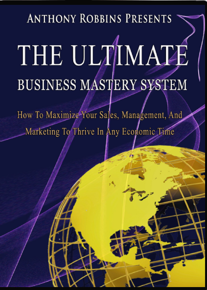 Image for Anthony Robbins Ultimate Business Mastery System: How To Maximize Your Sales, Management, And Marketing To Thrive In Any Economic Time. Complete, MP4s and PDF Ebooks on USB Drive.