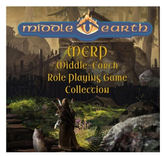 MERP: Middle-Earth Role Playing. Complete Collection, Lot, Set. All the books for the Middle Earth Roleplaying Game Plus many extras. All on a Data DVD disc.