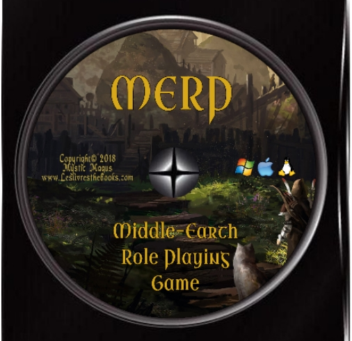 Image for MERP: Middle-Earth Role Playing. Complete Collection, Lot, Set. All the books for the Middle Earth Roleplaying Game Plus many extras. All on a Data DVD disc.