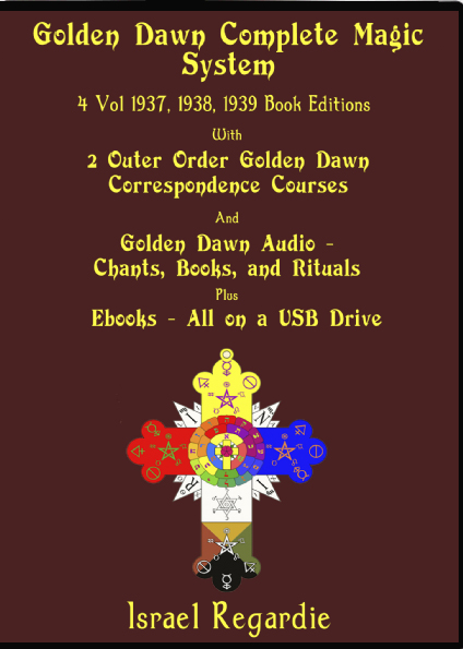Image for Golden Dawn Complete Magic System. Digital, and Audio. 4 Vol. 1937,1938,1939 eBook Editions. With, 2 Outer Order Golden Dawn Correspondence Courses, Golden Dawn Audio Mp3s, M4As, Plus Bonus Books on USB