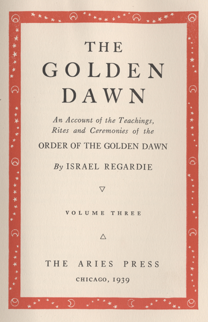 Golden Dawn Complete Magic System  Digital, and Audio  4 Vol   1937,1938,1939 eBook Editions  With, 2 Outer Order Golden Dawn  Correspondence Courses,